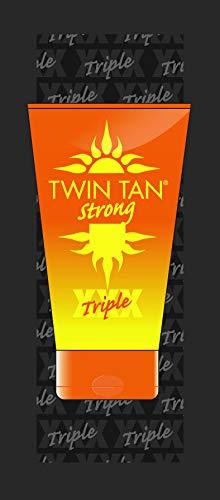 Zonnebankcrème TwinTan Strong 15ml - voor licht gebruinde huid