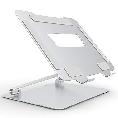 """Soporte para Laptop Plegable Portátil, Soporte De Aluminio para La Mayoría De Las Tabletas, Compatible con Macbook Pro/Air, HP Y Más Laptops De 10-17.3 """" B"""
