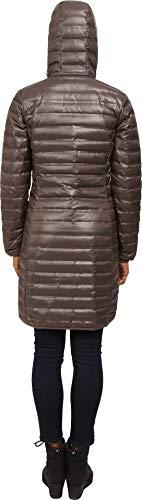 Columbia Women's Flash Forward Long Down Jacket, Mineshaft, Large