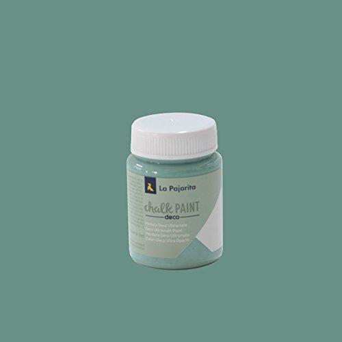 La Pajarita Chalk Paint Pintura Tiza Verde Hielo , 75 ml