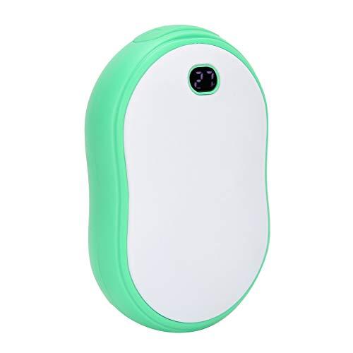 HAOX Calentadores de Manos Recargables, Calentadores de Manos USB portátiles Calentadores de Manos Recargables, Deportes al Aire Libre amigables con la Piel para Mujeres con Terapia de Calor