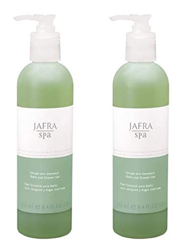 Jafra Ingwer und Algen Bade- und Duschgel Set, 2x250ml