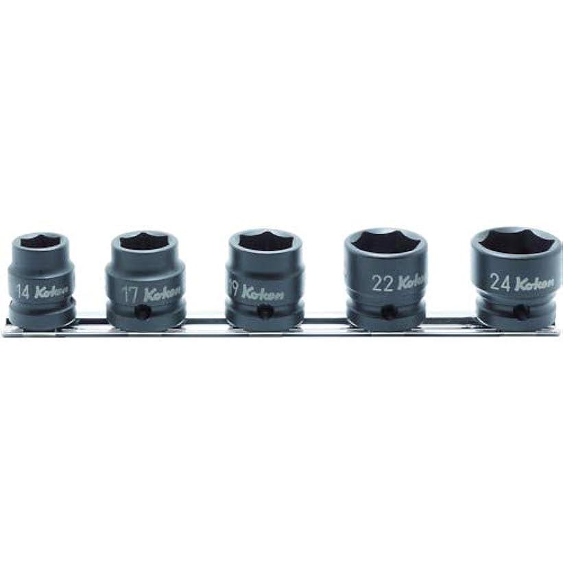 ラッチ合唱団ルーキーコーケン ソケット 1/2(12.7mm)SQ. インパクトショートソケットレールセット RS14401MS/5