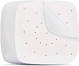Iycorish Lot de 400 Feuilles de Papiers Filtres Carrés Anti-adhésifs Jetable 16,5cm en Bambou pour Friteuse à Vapeur pour ...