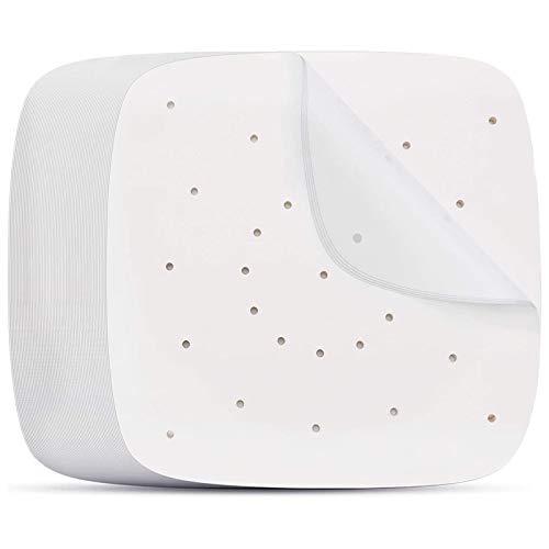 Qunlei Air Fryer Pergamena Liner di carta quadrato, 100 pezzi, 24,5 cm quadrati Air Fryer Liners/Pergamena a vapore, carta pergamena perforata per friggitrice ad aria, cestello fumante e altro ancora