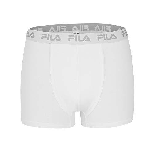 Fila 2-pack - Heren Basic Boxer Shorts, Cotton Stretch Logo, FU5004