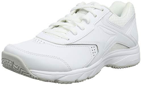 Reebok Bs9525, Chaussures de Marche Nordique Mixte, Multicolore (White/Steel), 39 EU