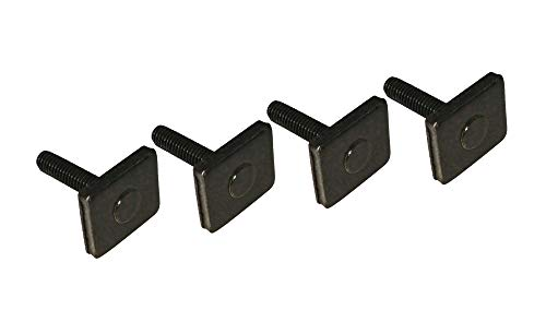 VDP 4 groefblokken M6 x 25 mm imperiaal raildrager T-moer adapter groefstenen