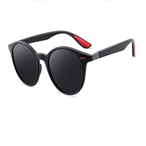 Genrics Women Retro Rivet Oval Polarized Sunglasses Male Driving Shading Goggle 2