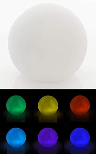 LED-Leuchtkugel Stimmungskugel Deko Changing Ball inkl. Batterien farbwechselnd (Oberfläche Glatt)