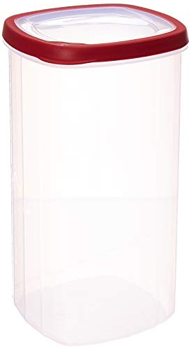Rubbermaid 085275702750 Flex & Seal Seal 'N Saver, 1.1 Gal / 4.2 Liter (Pack of 2 Containers), Value 1.1-Gallon, Clear