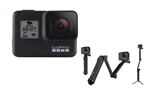 GoPro 3-Way Grip, Arm, Tripod (GoPro Official Mount) Now $28.00 (Was $69.99)
