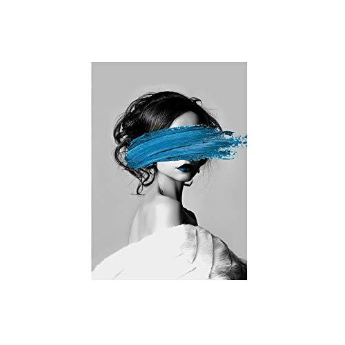 Danigrefinb Nordic stijl woonkamer art deco vrouw canvas schilderij poster muur kunst foto