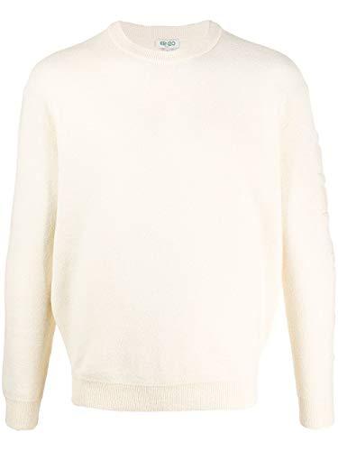 Luxury Fashion | Kenzo Heren FA55PU5183BD02 Beige Katoen Truien | Lente-zomer 20