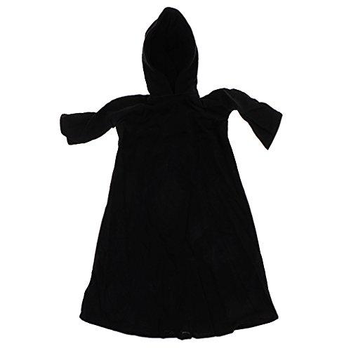 chiwanji Disfraz de Capa con Capucha Disfraz 1/6 para Figuritas Mujer 12 Pulgadas 34 x 26cm