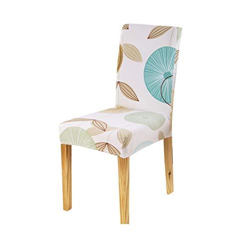 FORCHEER tuhlhussen 4er 6er Elastische Set Stuhlhussen Universal Stretchhusse Stuhlbezug Stretch für Stuhl Esszimmer