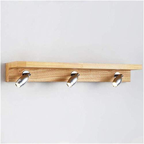Carl Artbay Shuai Mooie lamp / * LED spiegel licht voor badkamerkast water slaapkamer make-up lamp houten spiegel licht