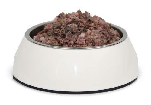 Frostfutter Nordloh > Rindermix < 20 x 500 g (10 kg), Barf Hundefutter gefroren, Frostfleisch-Paket, Gefrierfutter-Set für Hunde, Barf Frischfleisch