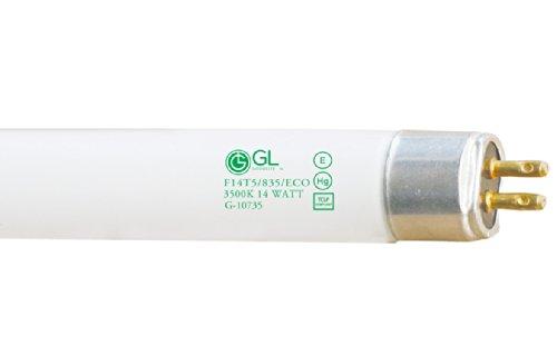 Goodlite G-10735 F14T5/835/ECO Straight 14-watt 22-Inch T5 Linear Fluorescent Lamp Mini Bi Pin Base, Soft White