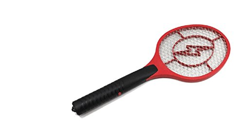 Precorn Elektrisk flugsmälla insektsdödare insektsfälla flugfångare flugskydd myggavvisande för flugor, mygga och insekter röd