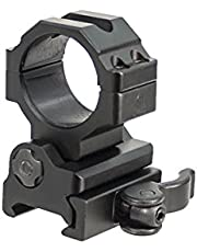 UTG RG-MF30QS 30mm Flip-to-Side, Ring Mount Montaje de Anillo QD de 30 mm con Giro a un Lado, Picatinny/Weaver, Unisex Adulto, Negro, 30 Medium