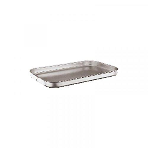 Rosenthal Sambonet serie 6900 aluminium pan plat 50x30