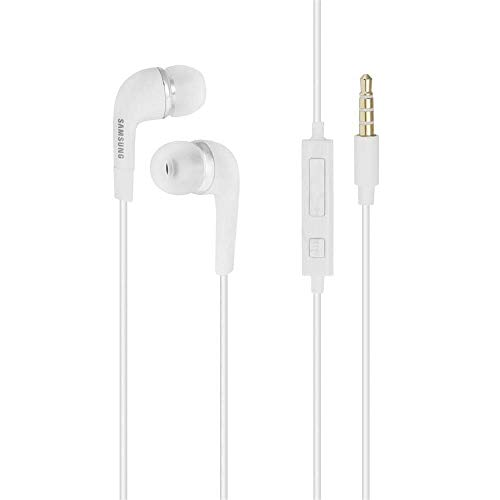 EHS64AVFWE - Auriculares in-Ear para Samsung Galaxy S7, S6 Edge Plus, S5 Mini, S4 I9500, S4 Mini I9190, Color Blanco