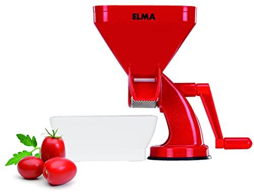 ELMA-Tomatera Italiana Manual, Tomatera de plástico, Rojo y blanco, Pasador de Tomates