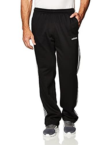 adidas Herren M E 3S FL PT Sport Trousers, Black/White, L