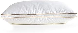xunlei Almohada Suave Blanco Pluma Pluma de Plumas Almohada de sueño Almohada para Dormir Kussens Almohada Cervical Oreiller Verter Le Lit Poduszkap 74 * 48 * 18cm