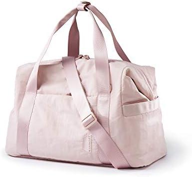 Weekender Bag BAGSMART Travel Duffle Bag Carry On Bag Large Overnight Bag for Women Pink product image