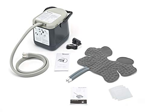Ossur Cold Rush Compact Therapy Machine System with Ankle Pad- Ergonomic, Adjustable Wrap Pad Included- Quiet, Lightweight and Strong Cryotherapy Freeze Kit Pump