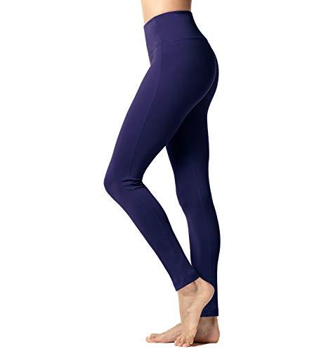 LAPASA Pantalón Deportivo de Mujer con Vello Ligero Cintura Alta Malla para Running Yoga y Ejercicio L36