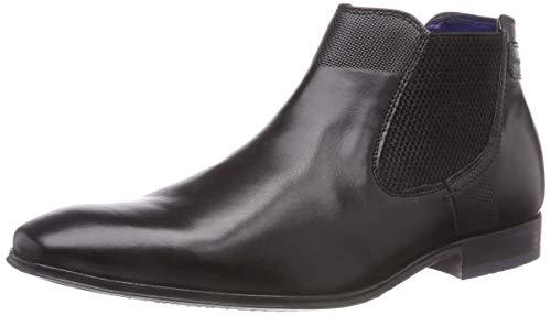 bugatti Herren 311101201000 Klassische Stiefel Kurzschaft Stiefel , Schwarz (Schwarz 1000) , 43 EU