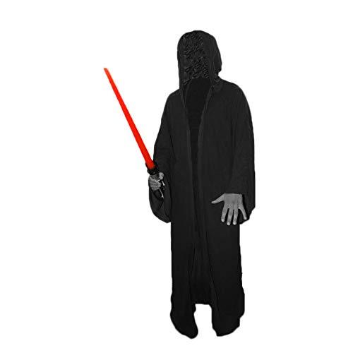 Unbekannt Deluxe Sith Bademantel für Erwachsene, Schwarz