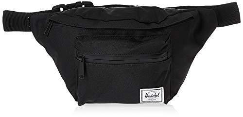 Herschel Seventeen Waist Pack, Black/Black Zipper, 3.5L
