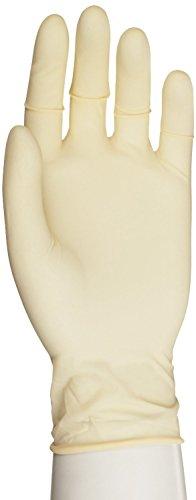 "Microflex Diamond Grip Latex Glove, Powder Free, 9.6"" Length, 6.3 mils Thick, X-Large (Pack of 1000)"