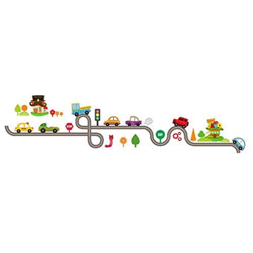 Unique Cute Cartoon Cars Baby Children Bedroom Room Decor Wall Stickers Removable Kids Nursery Decal Sticker