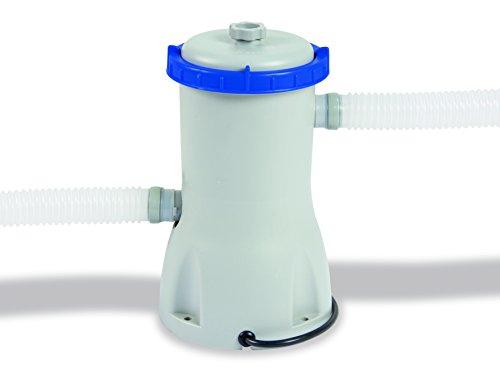 Flowclear Filterpumpe 3.028 l/h, 12 V Klasse 3 mit 230V Trafo/55Watt