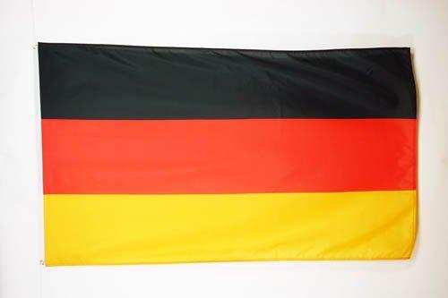 AZ FLAG Bandera de Alemania 150x90cm - Bandera Alemana 90 x 150 cm