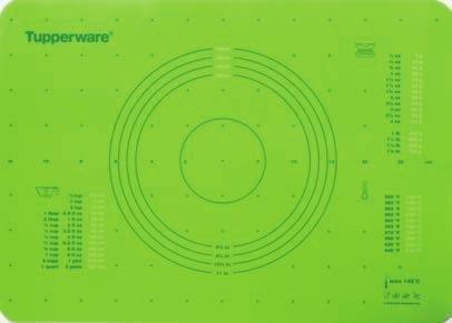 Tupperware Pastry Sheet in Green