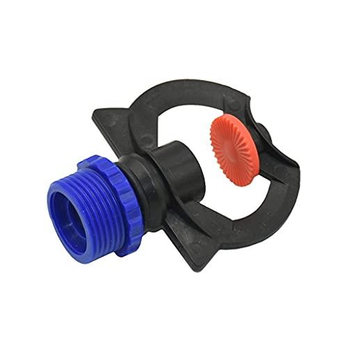 DDMYF Macho 1/2 3/4 Refracción Mistola Rociadora de Niebla Broche de boquillas con Conector de Hilo césped riego rociadores 1pcs (Color : A)