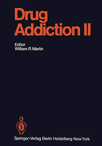 Drug Addiction II: Amphetamine, Psychotogen, and Marihuana Dependence (Handbook of Experimental Pharmacology, 45 / 2)