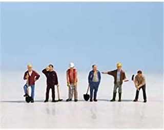 Noch 36110 Construction Workers 6/ N Scale Figures