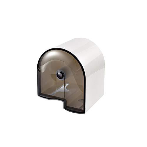 Xiaokeai Tenedor de Papel higiénico de Pared para el hogar con Potente función de Soporte de Carga, Caja dispensadora de Tejido Visible sin Punch