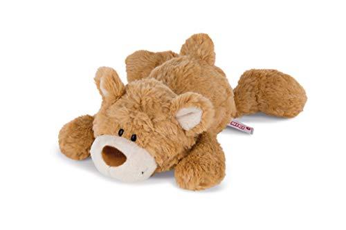 NICI 43339 Kuscheltier großer Bären-Bruder liegend, 30 cm, Hellbraun