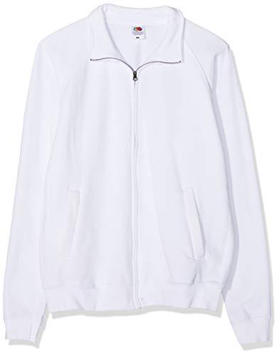 Fruit of the Loom Classic Sweat Jacket, 3 Pack Cappuccio, Bianco (White 30), X-Large (Pacco da 3) Uomo