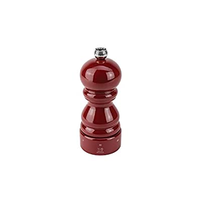 Peugeot Paris u Select Pepper Mill-Red Lacquered, 5.5 x 5.5 x 12 cm from Peugeot