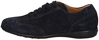 BRIAN CRESS BY CAMPANILE Scarpe Sneakers Uomo 921 Pelle Blu Originale AI