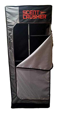 """Scent Crusher Locker Lite - Easy to Assemble Closet, Eliminates Odor on Hunting Clothing and Equipment, Maintenance-Free, Two-Year Warranty, 28"""" W x 69"""" H x 20"""" D, 23 Lbs."""